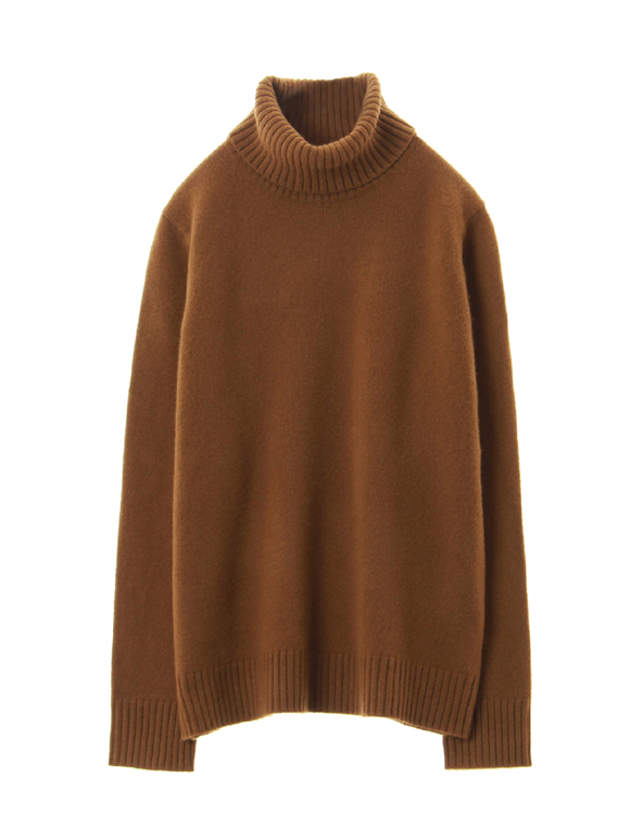 lt smooth wool turtle neck pull