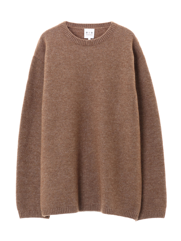 alpaca wool stetch crew