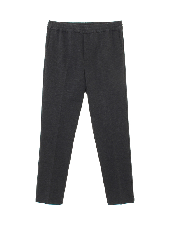 soft jersey shirring pants