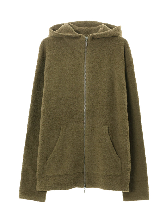 pile l/s zip up hoody