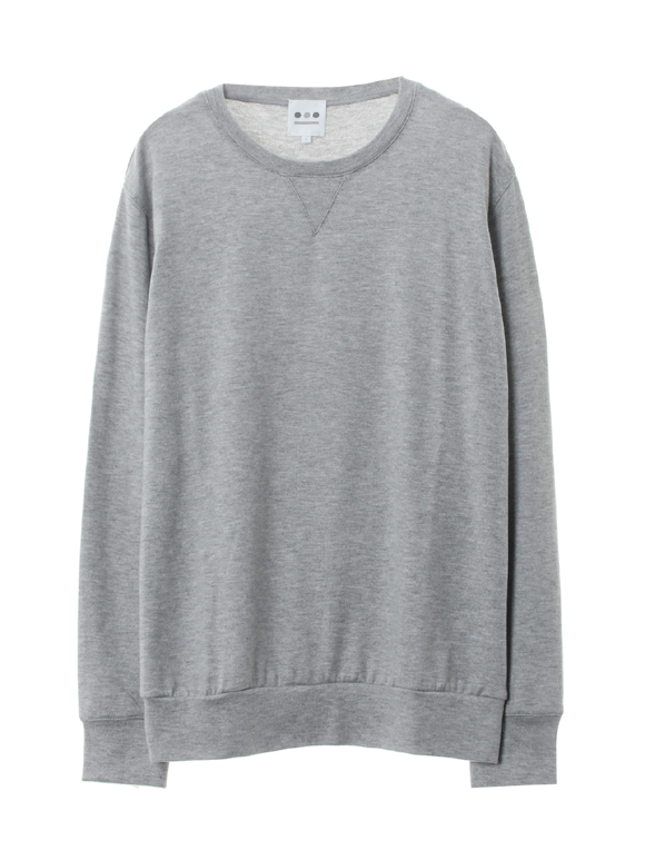 Men's brushed sweater l/s crew