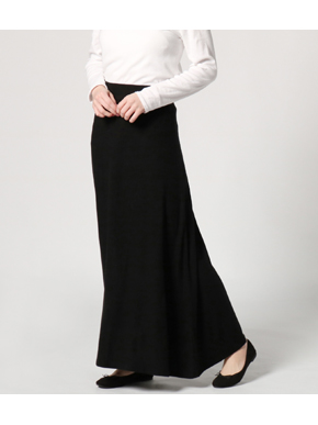 brushed sweater long skirt 詳細画像