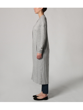 Brushed sweater long cardigan 詳細画像