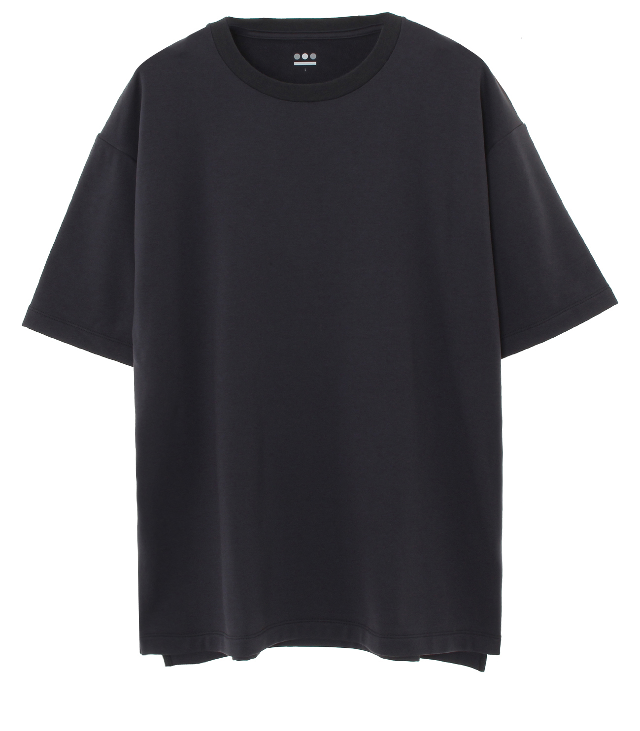 stretch terry s/s crewneck 詳細画像 black 1
