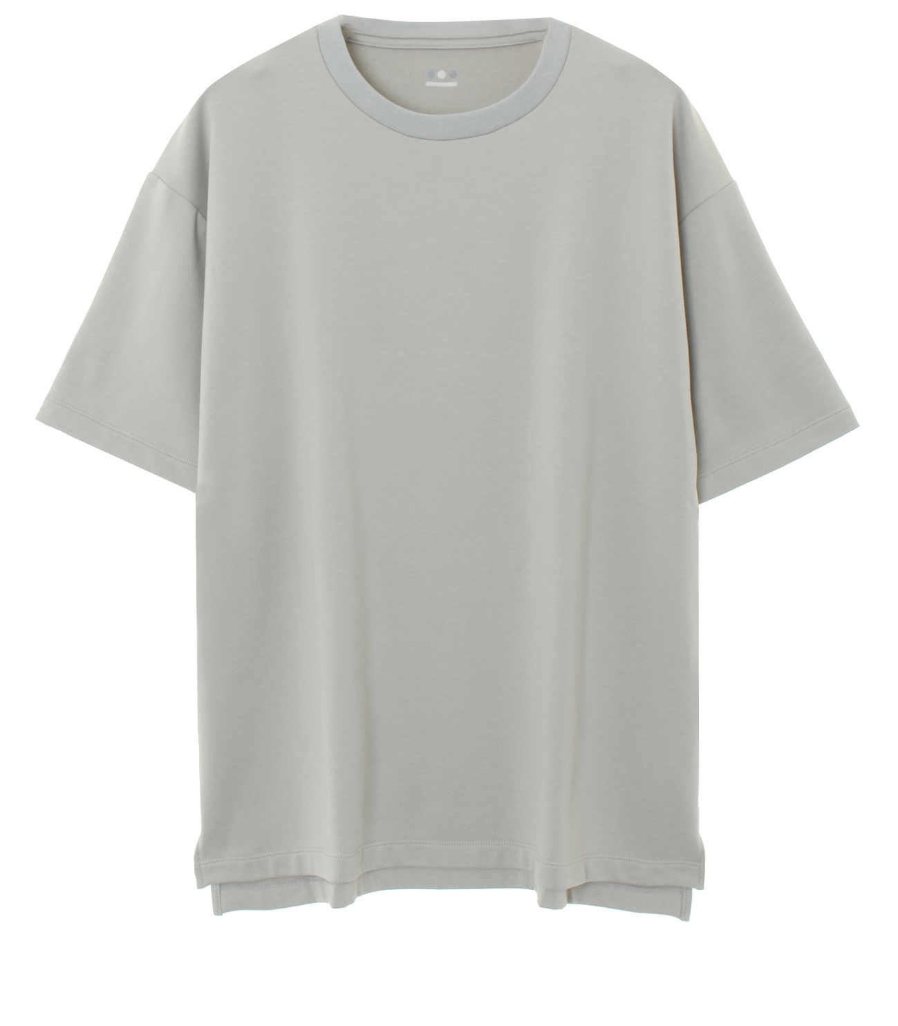 stretch terry s/s crewneck 詳細画像 pale grey 1