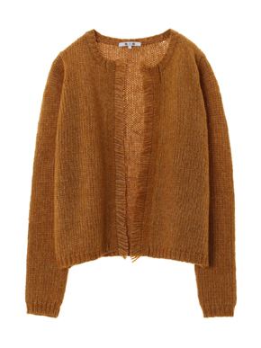 tweedy sweater l/s cardigan 詳細画像