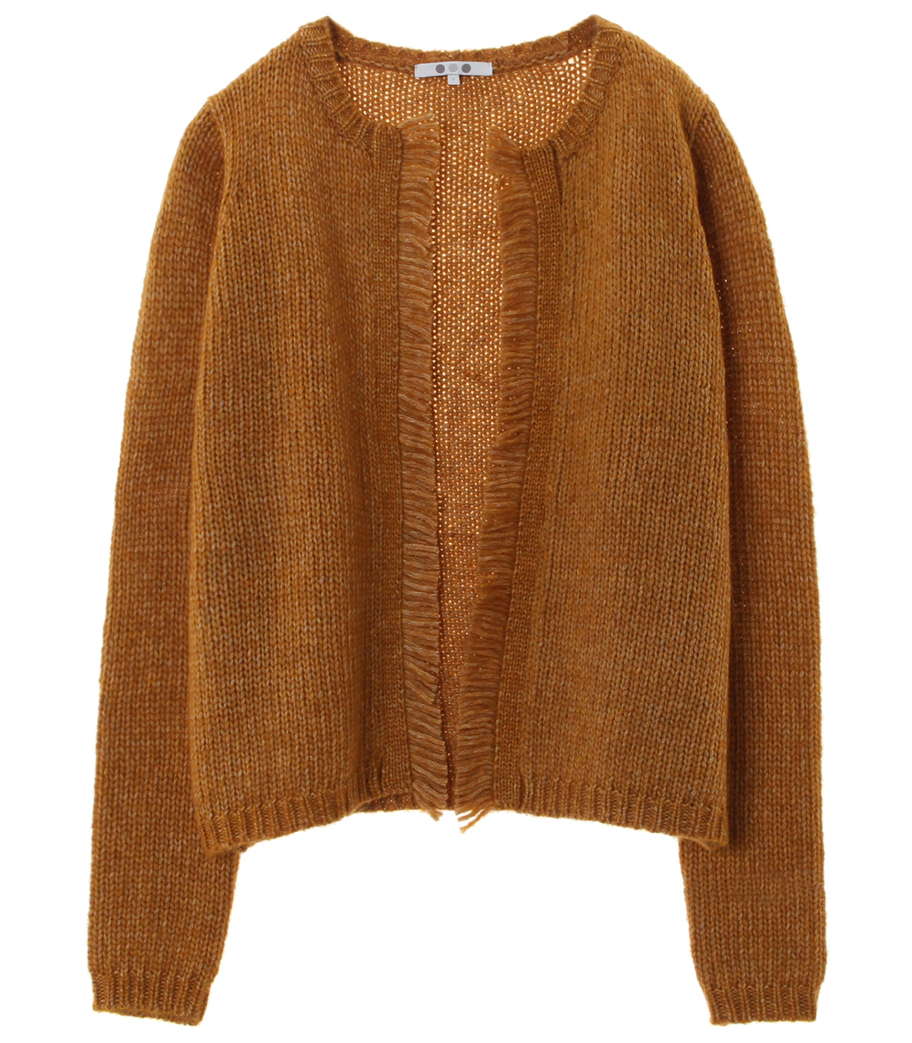 tweedy sweater l/s cardigan 詳細画像 yellow 1