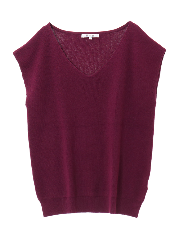 outlast sweater sleeveless vneck