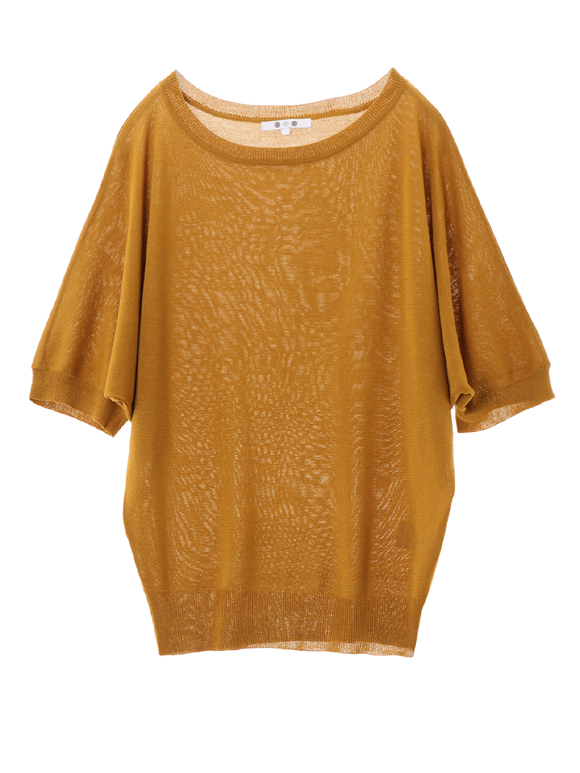 outlast sweater dolman s/s top