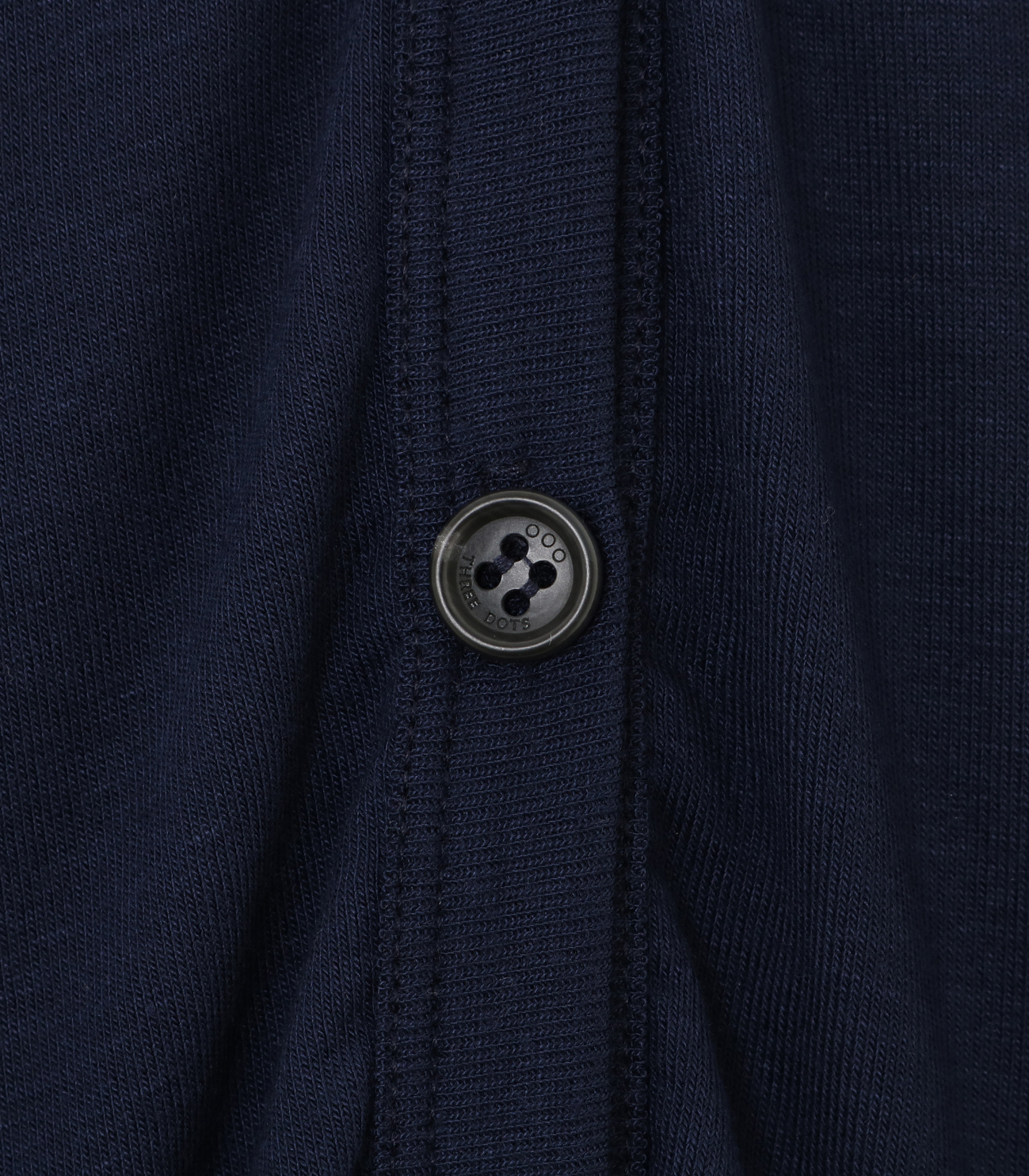 luxe rib button up cardigan 詳細画像 night iris 5