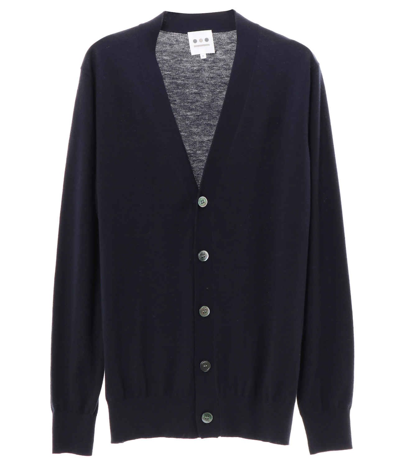 cotton wool l/s cardigan 詳細画像 navy 1