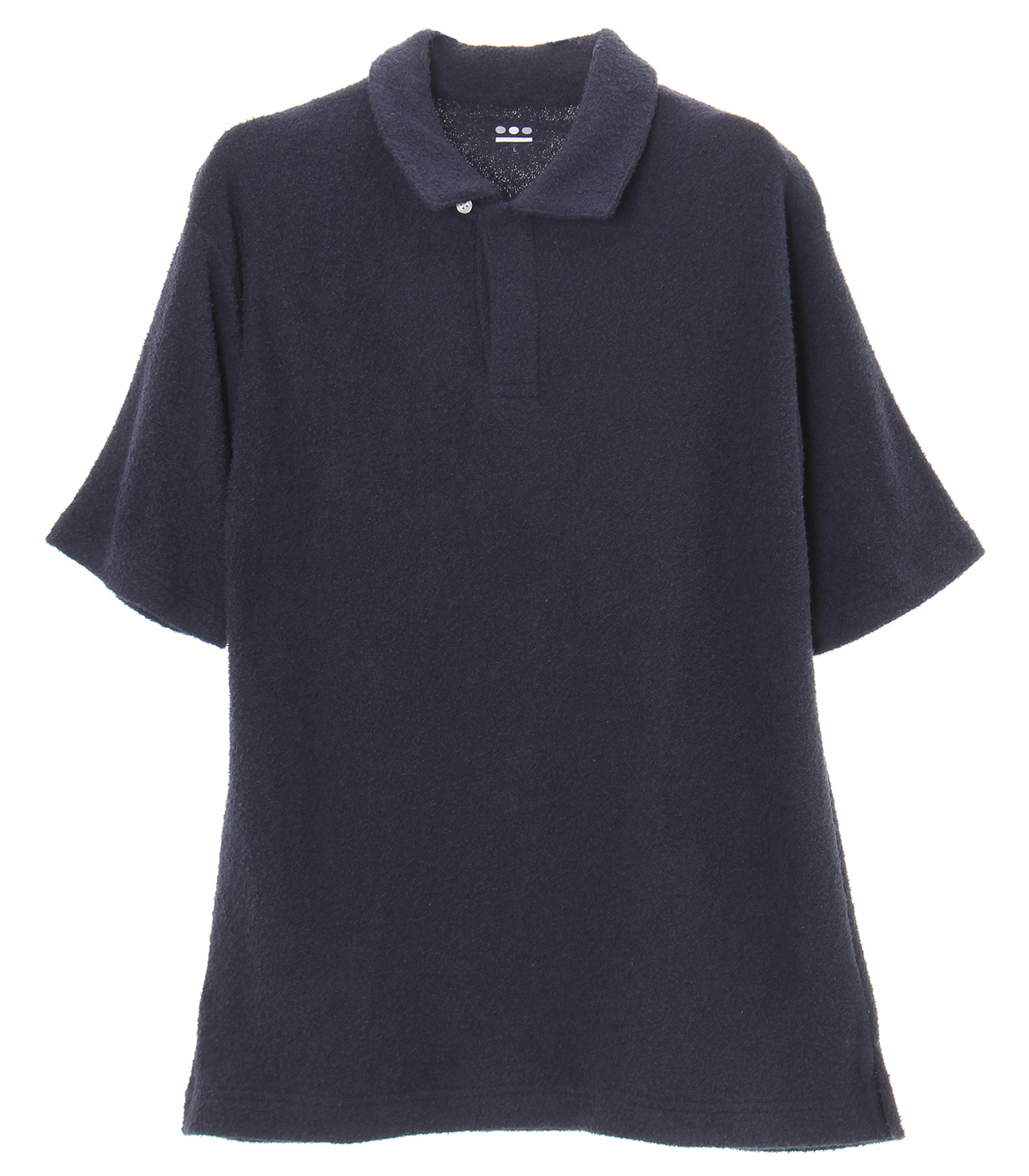 soft pile s/s skipper polo 詳細画像 navy 1
