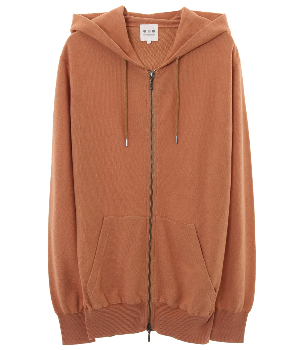 14gmini french terry hoody 詳細画像 camel 1