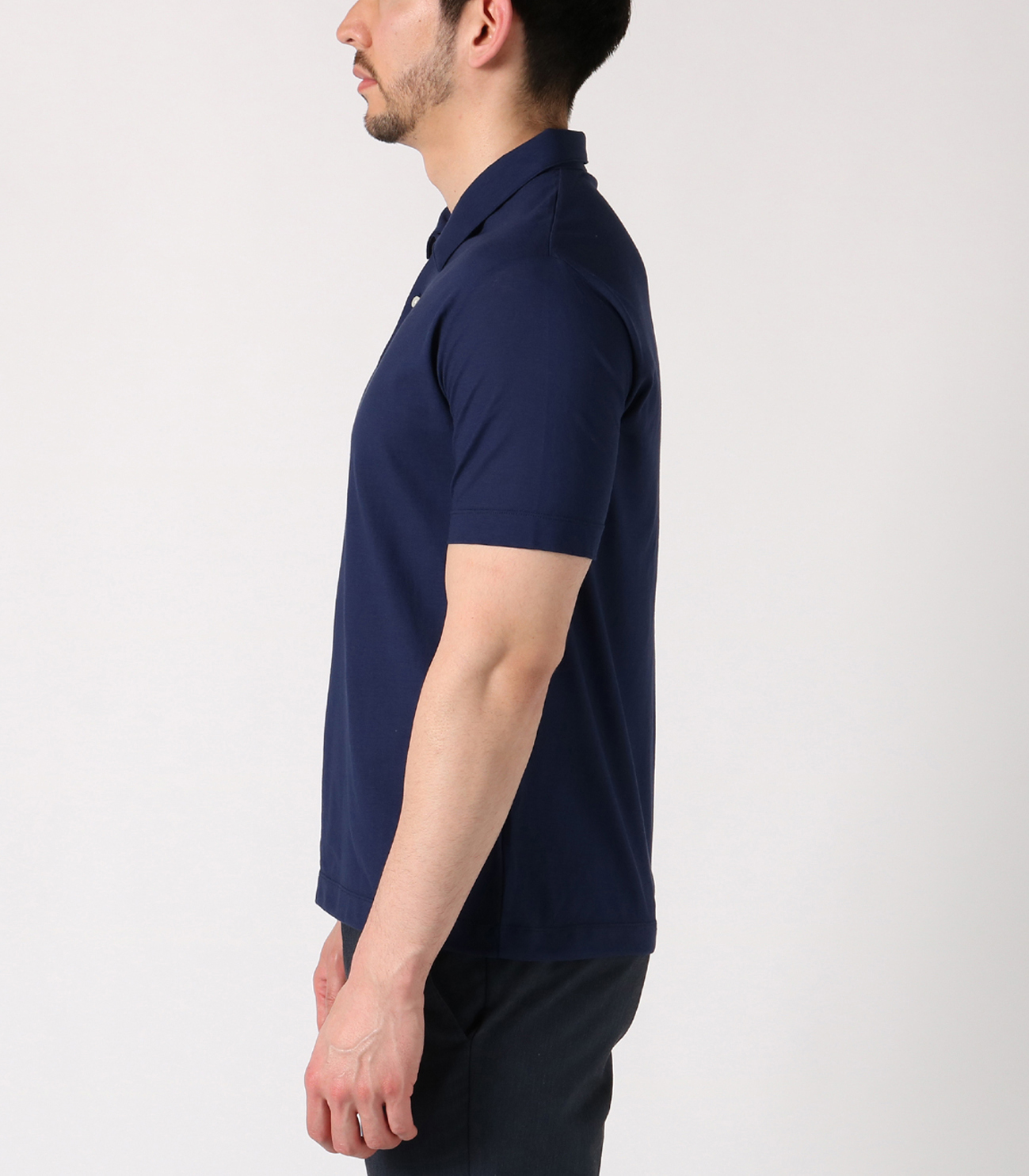 iced cotton s/s polo 詳細画像 ivory 3