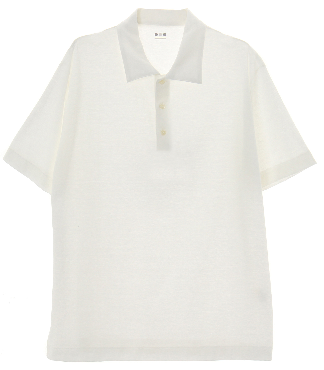 iced cotton s/s polo 詳細画像 ivory 1