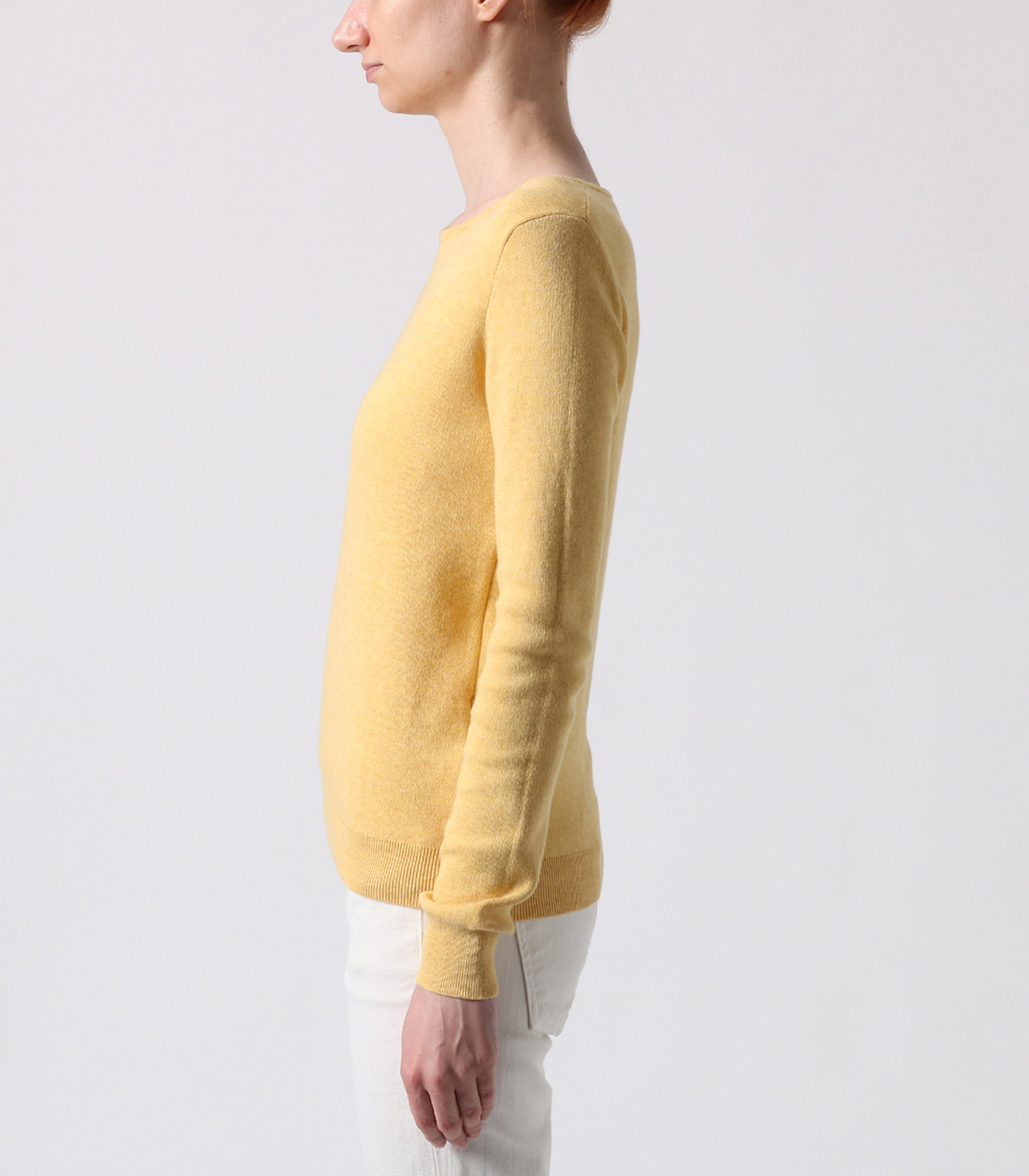 cotton melange l/s crew sweater 詳細画像 sunny 3