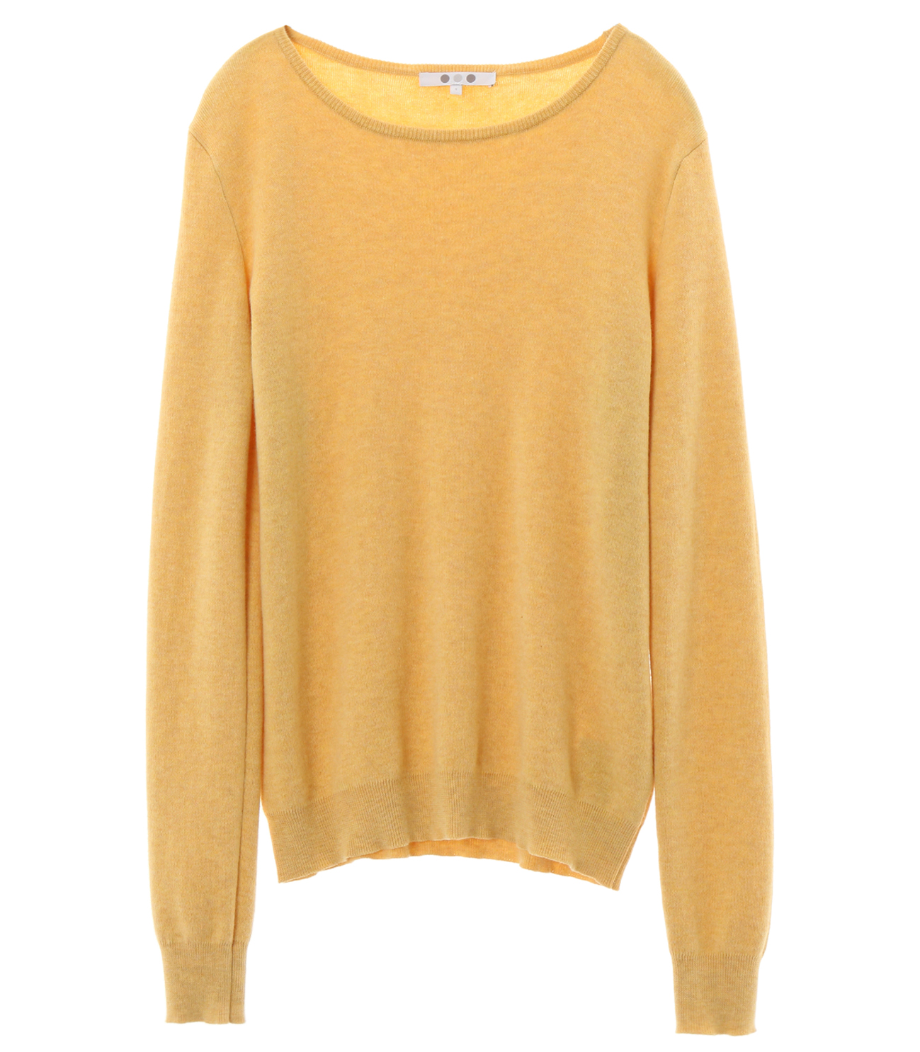 cotton melange l/s crew sweater 詳細画像 sunny 1