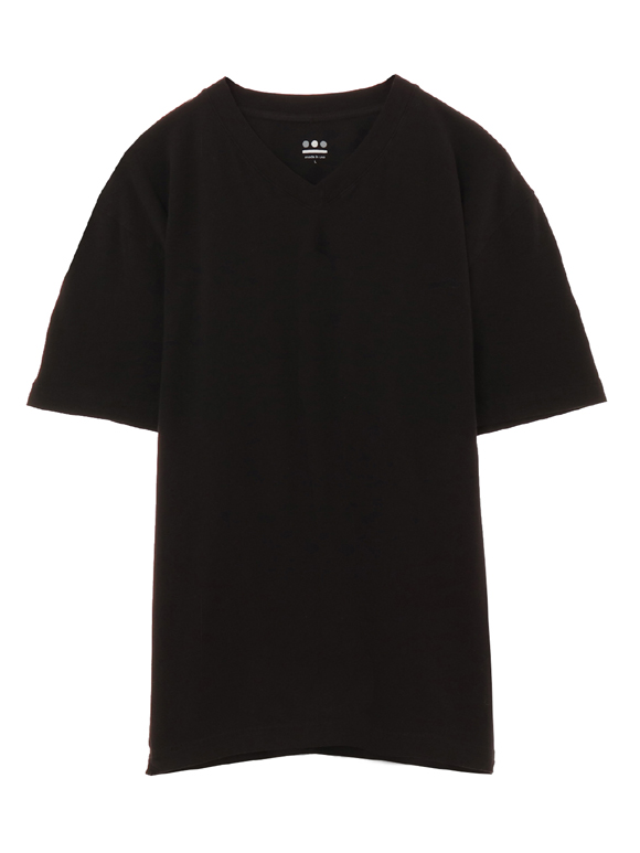 stretch jersey v-neck