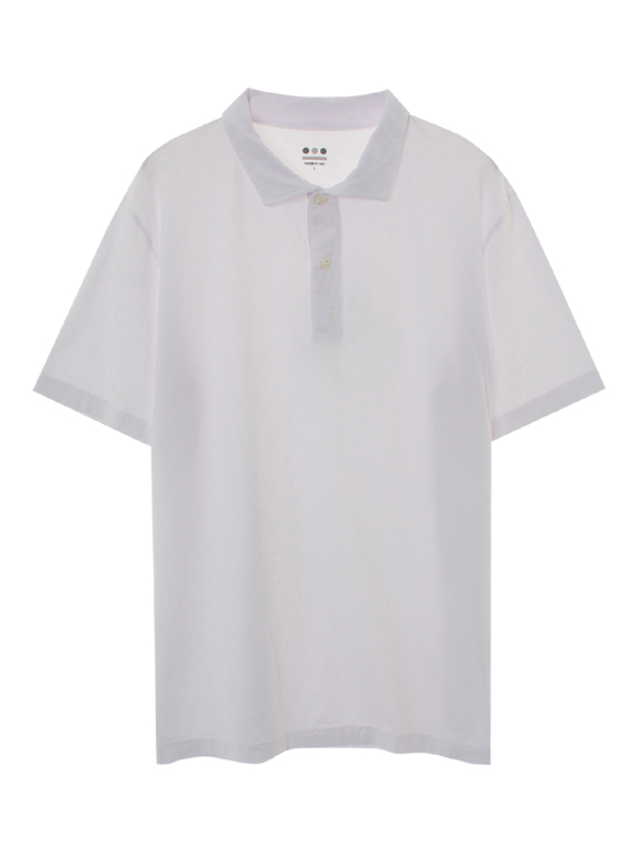 stretch jersey s/s polo