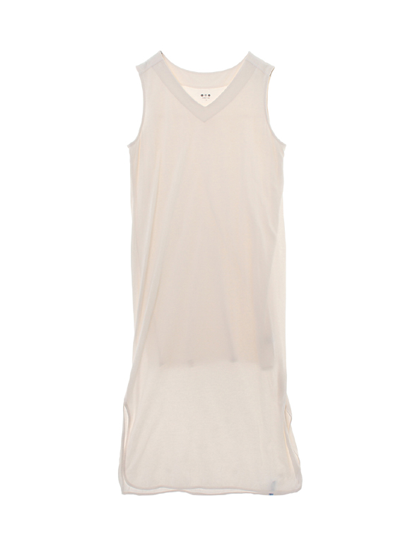 travel line tank dress w/waist
