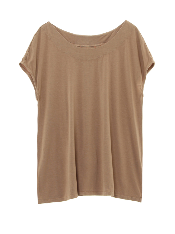 refined jersey sleeveless top