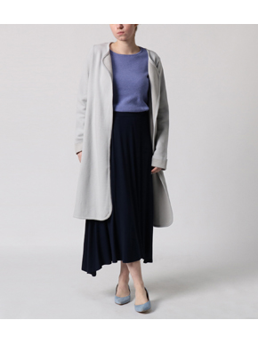 refined jersey long skirt 詳細画像