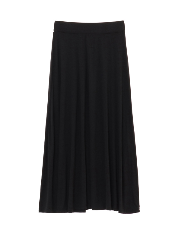 refined jersey long skirt