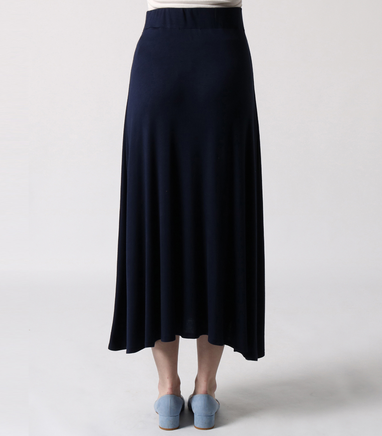 refined jersey long skirt 詳細画像 black 4