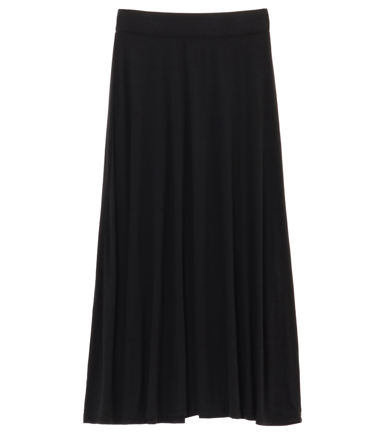 refined jersey long skirt 詳細画像 black 1