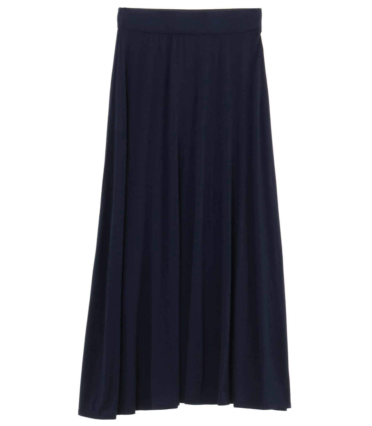 refined jersey long skirt 詳細画像 night iris 1