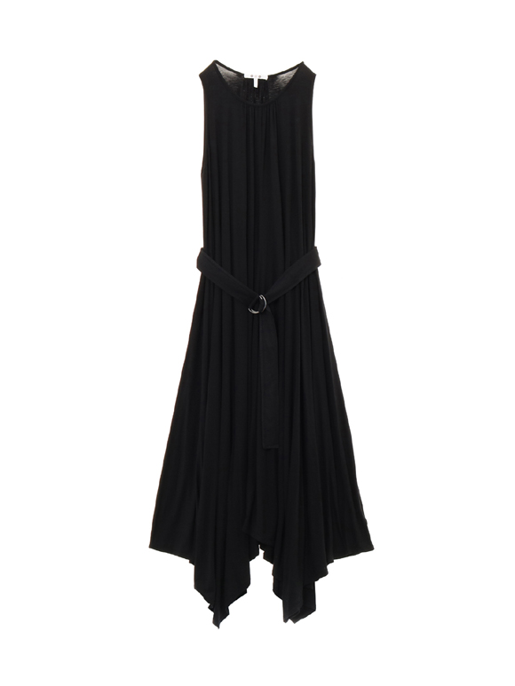 refined jersey halter dress