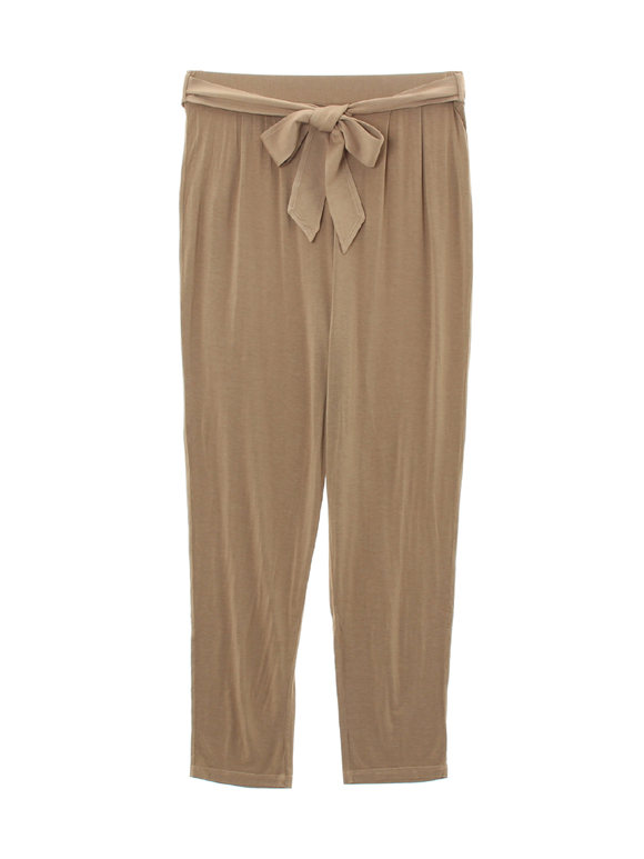 refined jersey pant