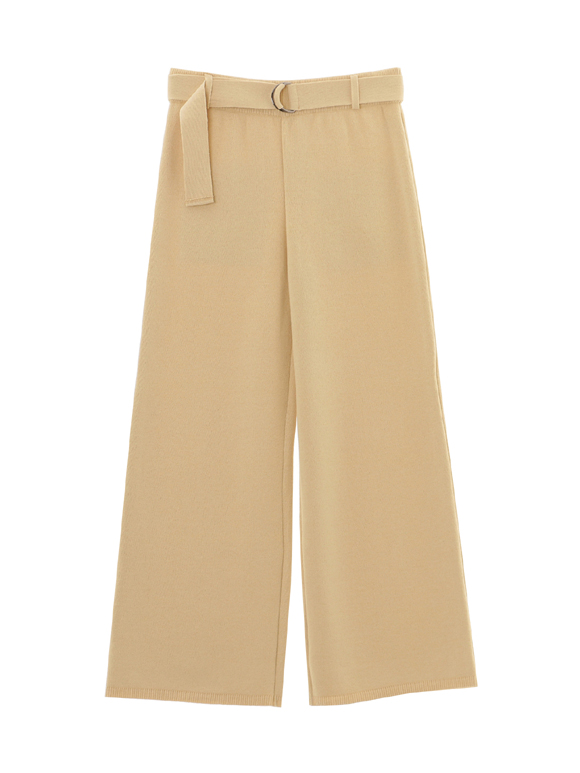 peach cotton full length pant