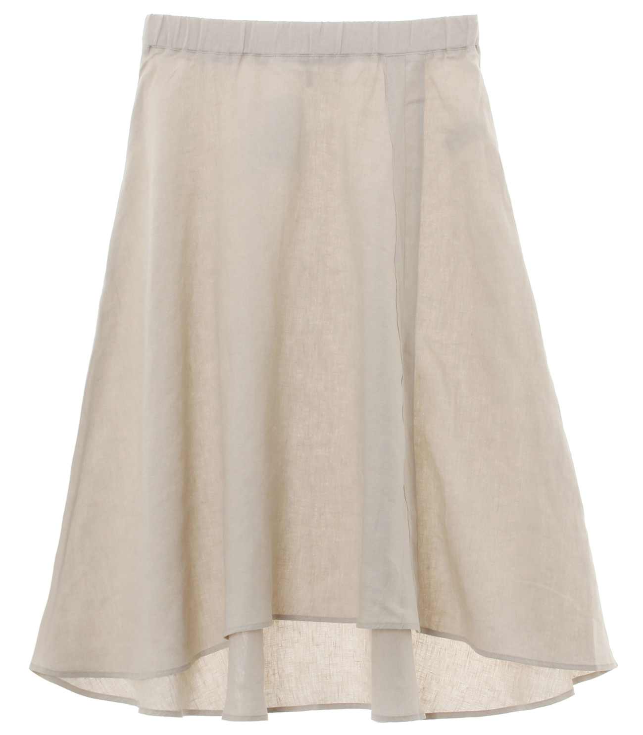 classic linen pull on skirt 詳細画像 canvas 1