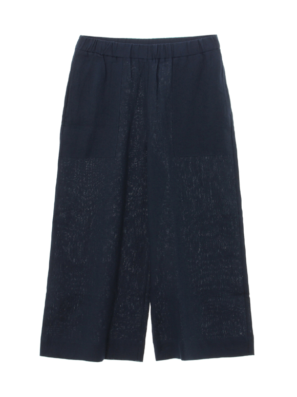 classic linen pull on pant