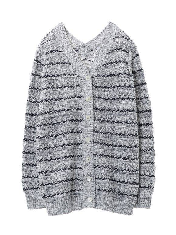 Basket mesh l/s double v cardy