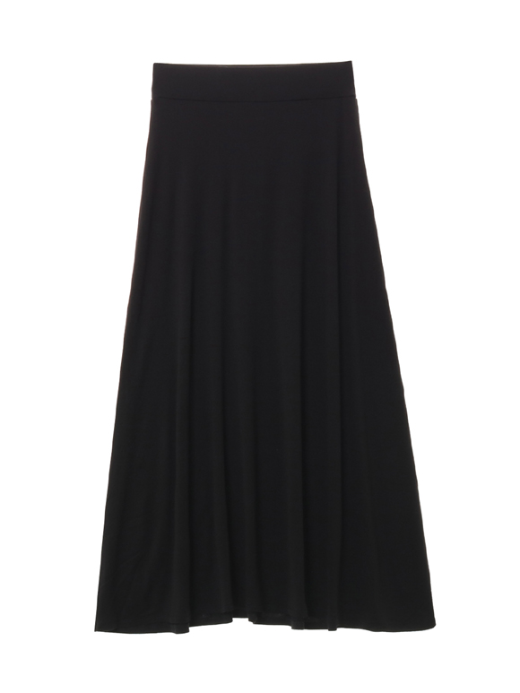 Sustinable jersey long skirt