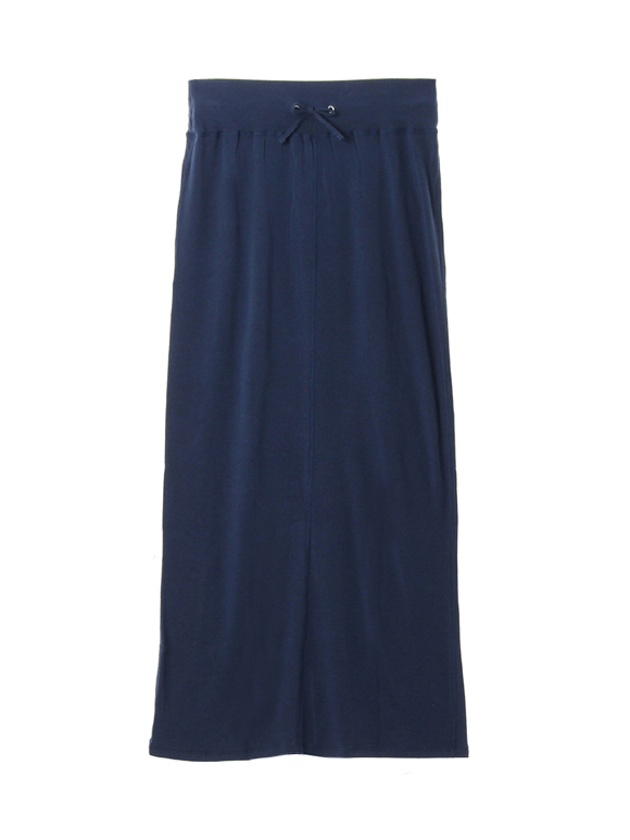 Lyocell cashmere long skirt