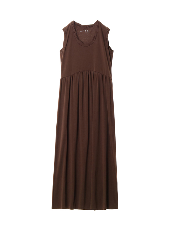 Smooth supima jersey long dress
