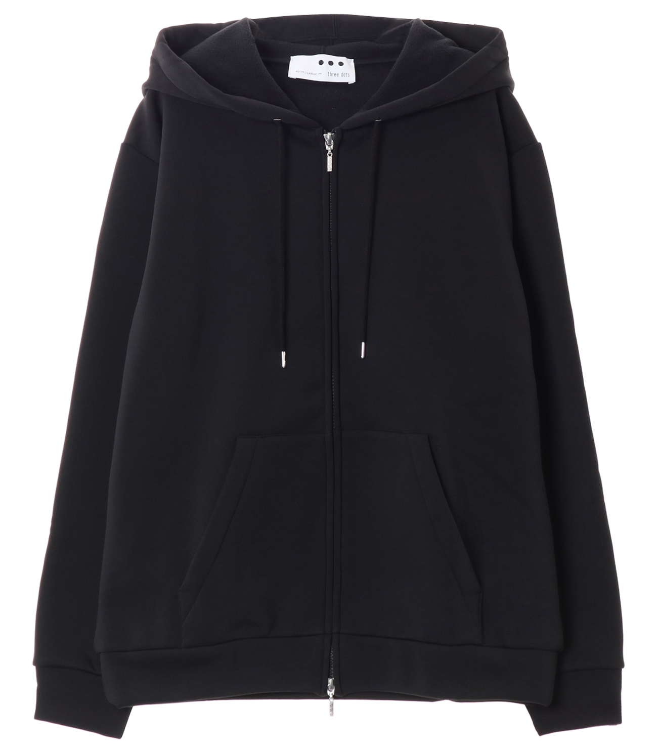 Men's cordura fleece zip up park 詳細画像 black 1