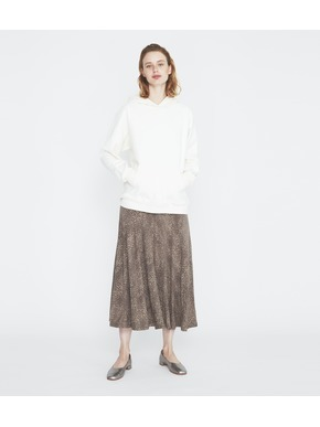 Dot print long skirt 詳細画像