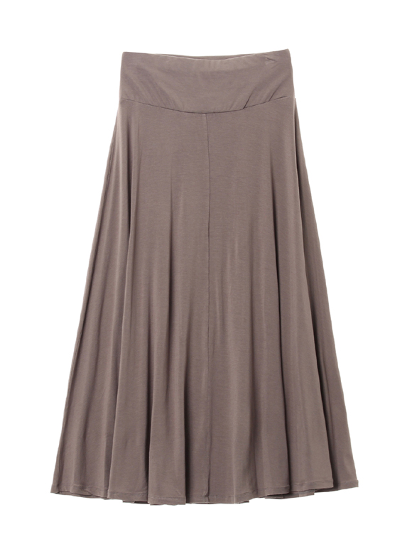 viscose jersey long skirt