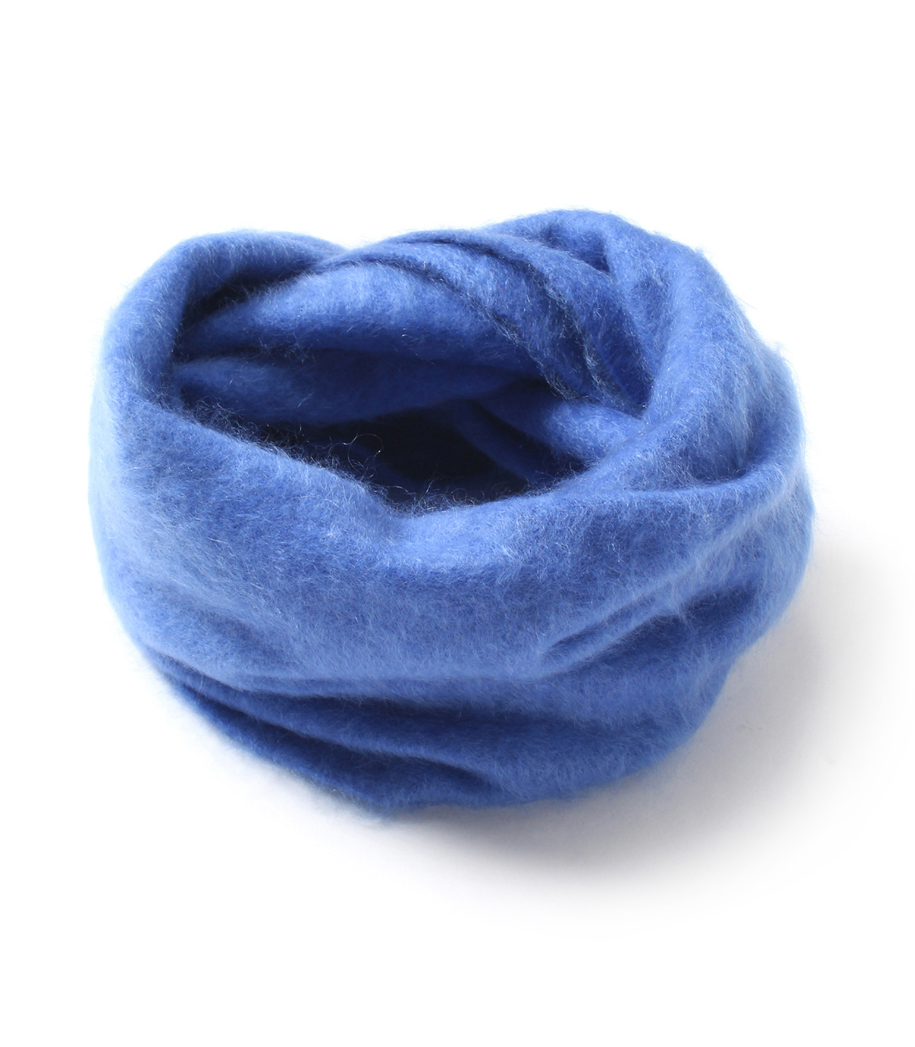 Fluffy cashmere snood 詳細画像 frost blue 1