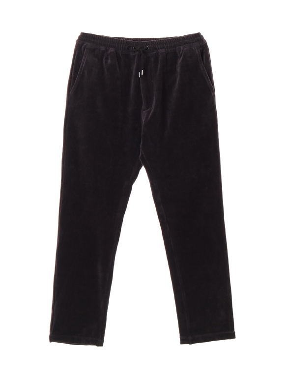 Men's knit corduroy easy pants