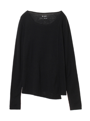 Sustainable jersey l/s layered t 詳細画像