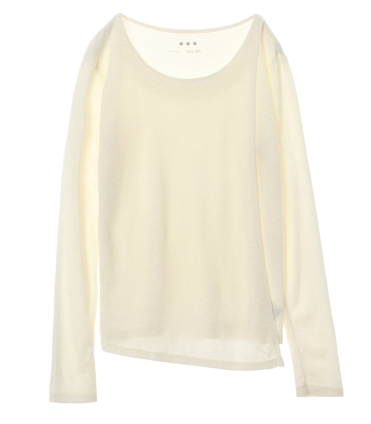 Sustainable jersey l/s layered t 詳細画像 white 1