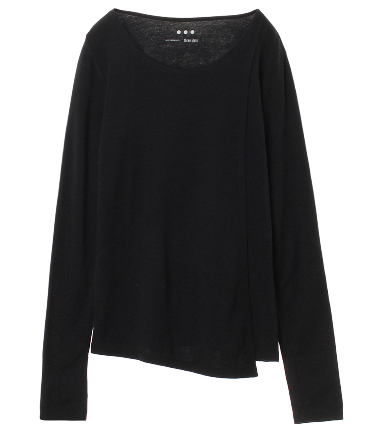 Sustainable jersey l/s layered t 詳細画像 black 1