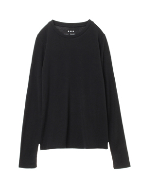 Sustainable jersey l/s crew top 詳細画像