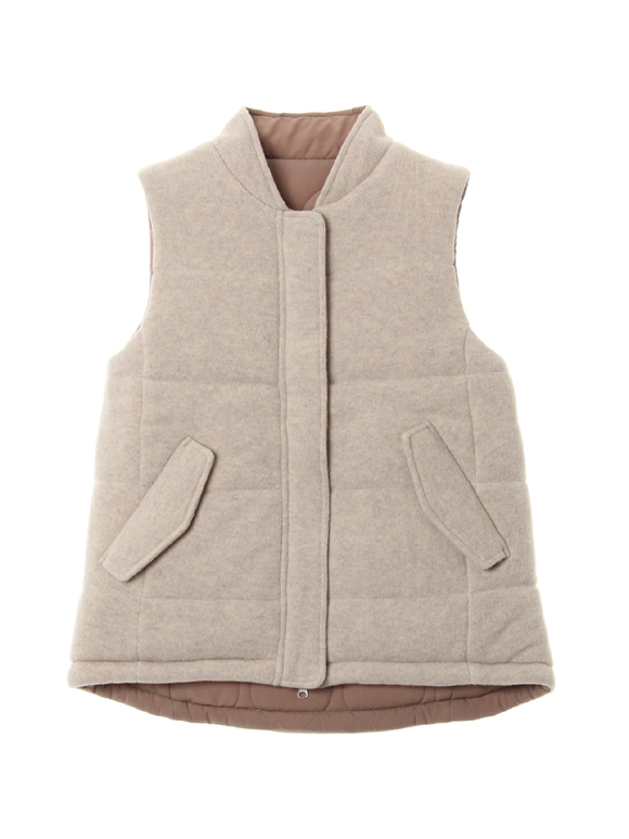 Wool outfit reversible outervest