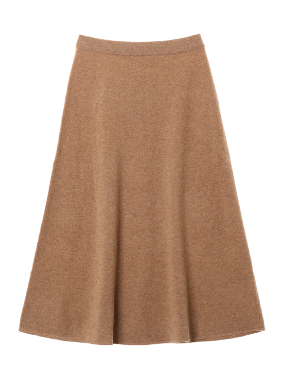 Wool outfit long skirt